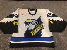 Springfield Falcons Game Worn Jersey AHL Hockey Goalie Cut