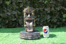 Tiki Totem Utterly Unique Reconstituted Stone Garden Ornament -Free UK P&P