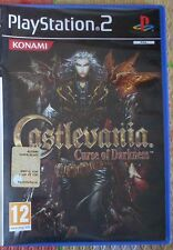 Castlevania Curse of Darkness Playstation 2 Ps2 PAL