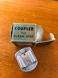 Nikon F Nikkor Coupler For Flash Unit Mint Box Nippon Japan VTG