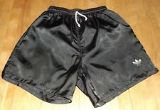 vintage men's ADIDAS nylon short shorts soccer running shiny size SMALL