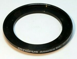 Olympus 43mm to 55mm Step-up ring Metal adapter double threaded