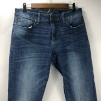 American Eagle Outfitters Men's Extreme Flex Slim Straight Blue Jeans Sz 32 x 36
