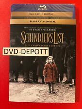 Schindler's List: 25th Anniversary Edition Blu-ray + Digital & Slipcover Free Sh