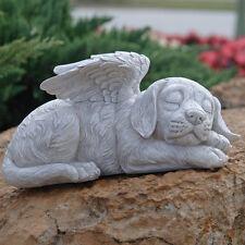 """New Design Toscano Perro Memorial """"Perro Ángel Pet Estatua Decoración De Jardín"""