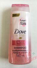 Dove Shampoo Nutritive Solution Detox Nourishment Micellar Pink Salt 140ml