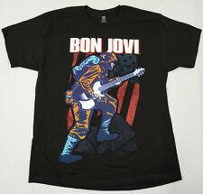 BON JOVI Because We Can Tour 2013 T-shirt Rock Band Concert Tee LARGE Black New