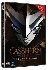 Casshern Sins . The Complete Series Collection . Anime . 6 DVD . NEU