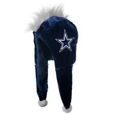 Dallas Cowboys Team Logo - Mohawk Dangle Hat - NEW soft plush