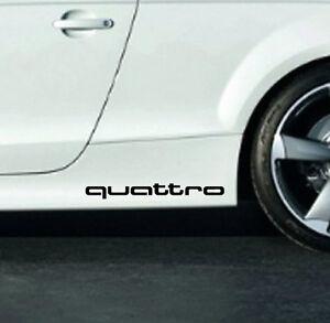Audi QUATTRO A3 A4 A5 A6 A8 S4 S5 S6 RS4 Q3 Q5 Q7 TT Decal sticker emblem logo B