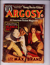 Argosy   Dec 1938   1st pulp App of Young Dr Kildare