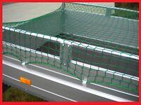 Anhängernetz Abdecknetz Container 2,0 x 2,0 m knotenlos 2x2m