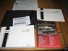 2007 GMC SIERRA CLASSIC SLE OWNERS MANUAL OWNER'S NEW SET