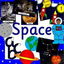 SPACE topic resource pack + Space Rocket role play on CD - KS1, EYFS, planets
