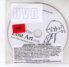 (DS376) Stricken City, Lost Art - DJ DVD