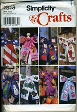 Holiday Door Bows - Simplicity Sewing Pattern - New