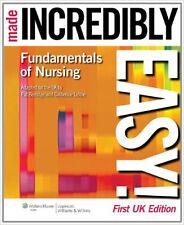 Fundamentals of Nursing Made Incredibly Easy! (Incredibly Easy! Series), New, Ca