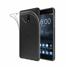 NOKIA 6 TPU CRYSTAL CLEAR CASE-Nuovo-UK Stock!