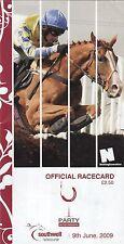 Racecard - Southwell 9th June 2009