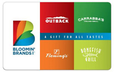 $50 GIFT CARD OUTBACK STEAKHOUSE CARRABBA'S BONEFISH GRILL FLEMING'S RESTAURANTS