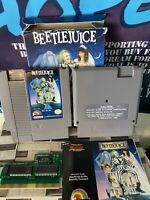 Beetlejuice (Nintendo Entertainment System, 1991)Complete With Box And Manual