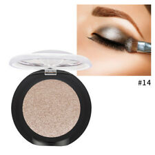 1x Women Solid Pearly Matte Eyeshadow Power Cream Palette Long Lasting Eye Cosme