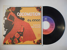 EL COCO : COCOMOTION / LOVE TO THE WORLD ♦ 45t. PORT GRATUIT ♦
