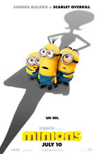 Minions A1 Movie Poster High Quality Canvas Art Print