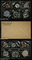 1958 Proof Set With COA ~ Flat Pack Original Envelope ~ US Mint Silver Coins MQ