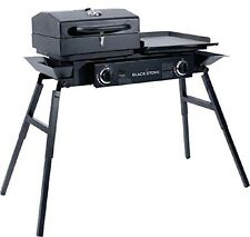 Portable Gas Grill Outdoor Bbq Camping Griddle Propane Cooking Tailgater Burner