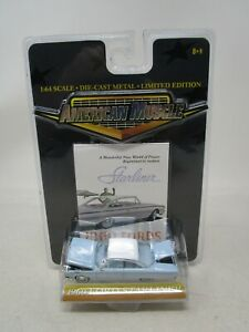 2000 Ertl American Muscle *1960 FORD STARLINER (LT. BLUE)* 1:64 (SEALED) Lot GA