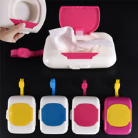 Baby Wipe Travel Case Child Wet Wipes Box Changing Dispenser Storage Holder LJ