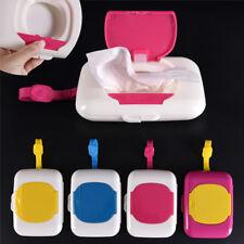 Baby Wipe Travel Case Child Wet Wipes Box Changing Dispenser Storage Holder AU、