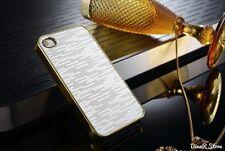 Design Bling Hülle für Apple iPhone 5s 5 Tasche Case Cover - Silber (114SI)