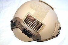 ORIGINAL MILITARY GENTEX LEVEL IIIA ACH MICH KEVLAR COMBAT HELMET - SMALL