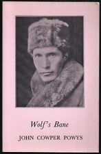 John Cowper Powys - Wolf's Bane - Re-issued 1st/1st