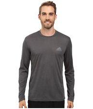 adidas Men's Training Essentials Tech Long Sleeve Shirt Charcoal 2xl Az2696