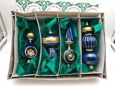 Inge Glas ⭐️⭐️ Sapin de Noël Décorations pour Arbre Set Jusqu'à 15 cm Haut Etat
