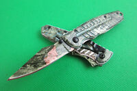 NEW Folding Knife Pocket Fishing Hunting Camping Survival Rescue Tool Saber
