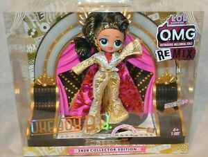 Limited Edition OMG Remix Jukebox BB LOL 2020 Collector Fashion Doll with Stage