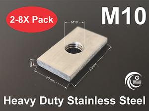 Channel Slot Nut Rhino Thule Yakima Pro Rola roof rack awning Accessories M10
