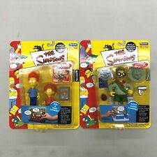 Simpsons Playmates Scout Leader Flanders Rod and Todd Set of 2 Action Figures