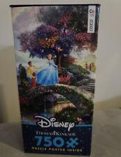THOMAS KINKADE DISNEY Cinderella Wishes Upon a Dream Jigsaw Puzzle 750 Pc NIB