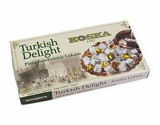 (14,18 EUR/Kg) les loukoums Turkish Delight avec Pistache 500 G | Friandise Koska
