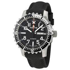 Fortis Marine Master Black Dial Mens Watch 670.17.41 LP