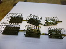 Drennan Stainless Cage Feeders x6 med/large  /xl  soft pellet??