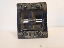 60 AMP RANGE  FUSE PANEL PULL OUTS