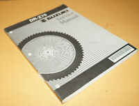 Suzuki DR-Z70 Factory Service Shop Manual Repair Book