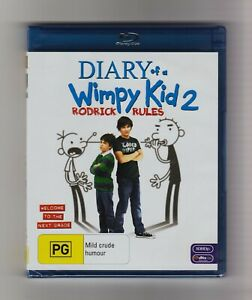 Diary Of A Wimpy Kid 2: Rodrick Rules Blu-ray - Brand New & Sealed