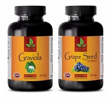 Antioxidant natural greens – GRAVIOLA - GRAPE SEED EXTRACT COMBO -grape seed